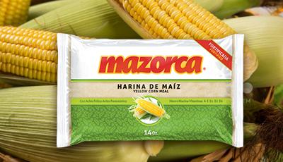 Harina de maíz Mazorca